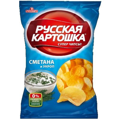 фото чипсы русская картошка